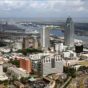 Downtown Mobile AL